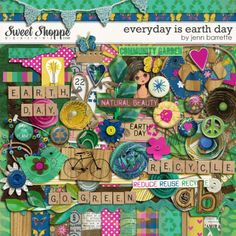 Everyday Is Earth Day by Jenn Barrette. $7.99