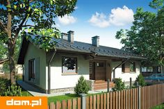 DOM.PL™ - Projekt domu AT Neo II CE - DOM AT9-04 - gotowy koszt budowy Simple House Plans, Pergola, Sweet Home, Villa, Farmhouse, Outdoor Structures, Outdoor Decor, Studio, Home Decor