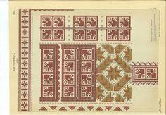 Folk Embroidery, Pattern Books, Romania, Blackwork, Cross Stitch, Diagram, Restaurant Ideas, Traditional, Crafts