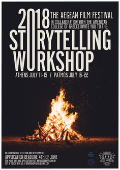 Aegean Storytelling Workshop 2018, Athens and Patmos, idea generation selection and development.