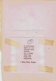Typewriter poem #66 | Mary Kate Teske