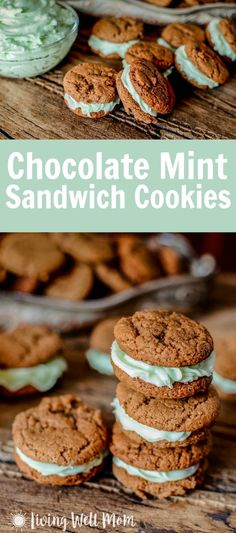 Holiday baking isn't complete without at least one batch of these delicious chewy Chocolate Mint Sandwich Cookies. It's a good thing this family-favorite recipe is so easy to make! And yes, they taste even more delicious than they look!