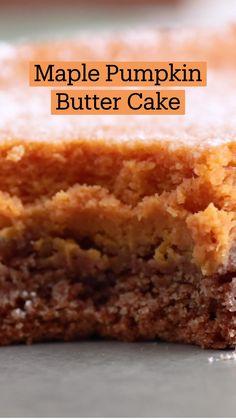 Fall Desserts, Just Desserts, Delicious Desserts, Dessert Recipes, Yummy Food, Pumpkin Recipes, Fall Recipes, Holiday Recipes, Pumpkin Dessert