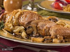 This recipe for Pork Tenderloin Marsala will fancy up your dinner spread in no time, without breaking your bank. And 'cause this easy pork dinner is so tender, you won't even have to set out the knives! Talk about fuss-free and company-fancy!