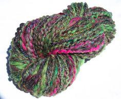 Art Yarn Hand spun knitting yarnFalkland Suffolk by YummyYarnsUK