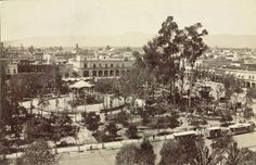 Mexico City, Zócalo Square, c. 1880s