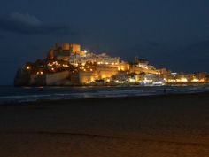 Peñíscola. Didn't actually love this place - but loved the Paella! Spain!