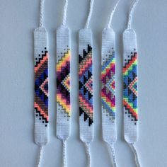 Macrame bracelet tutorial: The basic herringbone pattern - step by step macrame idea craft guide Rachel might like this – Artofit Diy Bracelets Easy, Thread Bracelets, Embroidery Bracelets, Summer Bracelets, Cute Bracelets, Beaded Bracelets, Braclets Diy, Homemade Bracelets, Ankle Bracelets