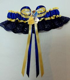 Disney Beauty And The Beast Golden Lace Bridal Wedding Garter. http://www.gracefulgarters.co.uk/product/disney-beauty-and-the-beast-golden-lace-bridal-wedding-garter/ #onceuponatime #ataleasoldastime #disneygarters #beautyandthebeastgarters