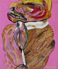 Robert Hodgins Angry man 7985 605 x 51 cm