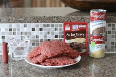 Crock Pot Cubed Steak with Gravy - The Country Cook