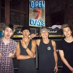 5SOS😍😍😍😍 my new fav band 😁