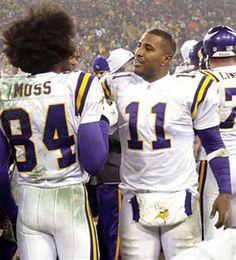 Minnesota Vikings Football, Minnesota Twins, Pittsburgh Steelers, Dallas Cowboys, Randy Moss Vikings, Viking 1, Famous African Americans, Nfc North, Nfl Football Players