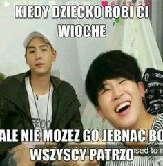 Read Memy from the story BTS × Memy, Zdjęcia, Gify by _gray_potato_ (zgniły ziemniak) with reads. K Meme, Funny Kpop Memes, Wtf Funny, Bts Memes, Bts Kiss, Funny Mems, Read News, Bts Photo, K Pop