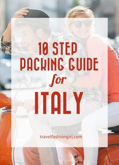 Planning a trip to Italy? Check out our ten step packing guide! Pack like a pro and learn what to pack year round (and what shoes to wear and AVOID)!