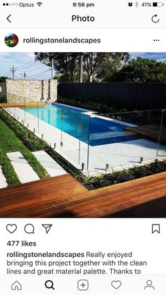 Get the best around the pool landscaping Small Backyard Pools, Small Pools, Swimming Pools Backyard, Swimming Pool Designs, Pool Landscaping, Small Pool Design, Swiming Pool, Outdoor Retreat, My Pool