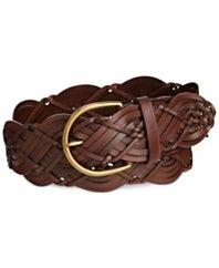 Lauren Ralph Lauren Woven Braided Belt