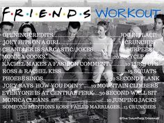 Ready to binge watch Friends on Netflix? Here's a Friends Workout to keep you in shape while you do it. Netflix Workout, Tv Show Workouts, One Song Workouts, Workout Songs, Running Workouts, Circuit Workouts, Quick Workouts, Workout Routines, Lazy Girl Workout
