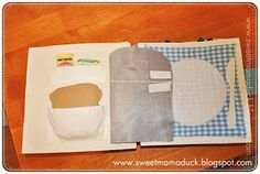 How to Make a Quiet Book: Mama Duck's quiet book