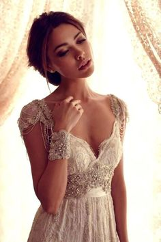 Wedding dresses aren't my thing, but oh, do I love this one!