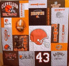 Cleveland Browns Quilt Dawg Pound