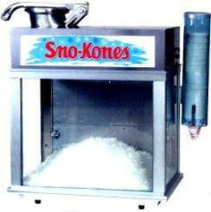 snow cone machine rentals nj