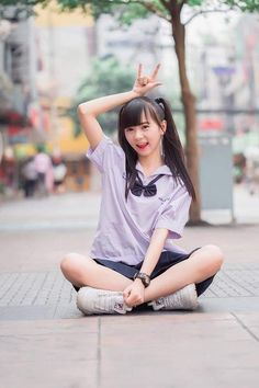 Asian Cute, Cute Asian Girls, Cute Little Girls, School Girl Japan, Japan Girl, Pretty Korean Girls, Cute Japanese Girl, Cute Girl Poses, Cute Girl Photo