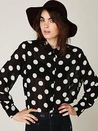 Yes, Polka Dots and jeans