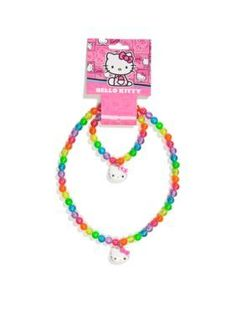 Hello Kitty by Sanrio  Necklace and Bracelet Set