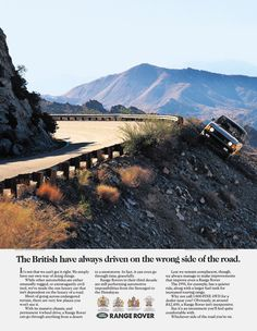 Classic Range Rover Ads
