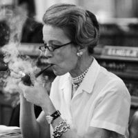New Jersey: Mrs. Millicent H. Fenwick, a tall, slender, pipe-smoking grandmother, lights up at her desk in the State Assembly. She is quietly prodding her colleagues in the New Jersey Legislature to give the state's women a new bill of rights. Women Smoking Cigars, Cigar Smoking, Pipe Smoking, Smoking Ladies, Peace Pipe, Pipes And Cigars, Pipe Dream, Smoking Accessories, Moving Pictures