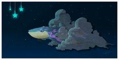 flyin whale by Feero on DeviantArt