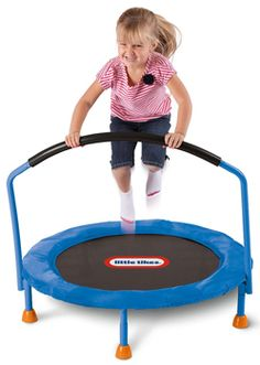 Little Tikes 3' Trampoline - If you want a toy that'll help your kids get some exercise, then this mini trampoline is an excellent choice.
