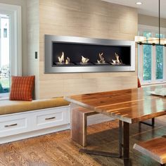 Ignis Accalia Bio Ethanol Recessed Wall Fireplace