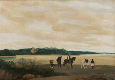 Gezicht op het eiland Itamaracà in Brazilië 1637