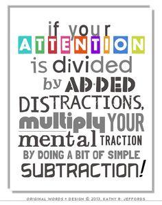 Math Art Print. Typographic Print. Mathematics Art. Classroom Decor. Pay Attention Sign. Math Poster. Gift For Math Teacher Or Math Nerd.