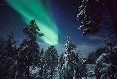 Aurora Borealis Northern Lights Finland - Mike Kemp - Re-Wilding Northern Lights Finland, Northern Lights Tours, See The Northern Lights, Stairway To Heaven, Winter Pictures, Winter Night, Beautiful Sky, Aurora Borealis, Dream Vacations