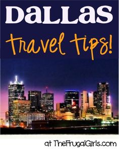 Planning a trip to the Dallas and Fort Worth area? Don't miss these Best Dallas Fort Worth Travel Tips, shared by your frugal friends! Texas Vacations, Texas Roadtrip, Texas Travel, Travel Usa, Travel Tips, Travel Guides, Oh The Places You'll Go, Places To Travel, Travel Destinations