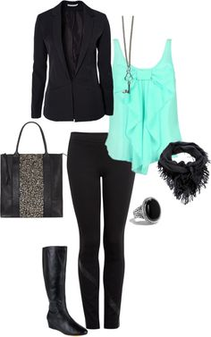 """Todays Outfit..Comfy at work!"" by krystadc on Polyvore"