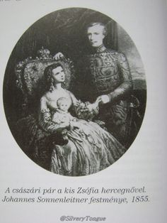 Real couple Franz Josef I and Empress Elisabeth of Austria.