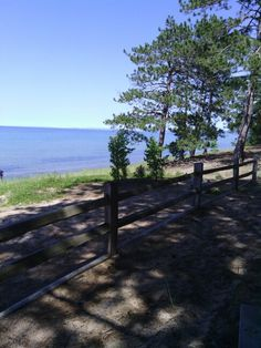 Lake Superior at Big Pine picnic area
