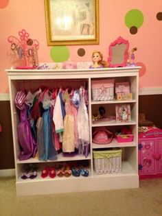 Charmant Dress Up Closet For Abby | Home