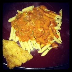 Penne With Vodka Sauce and Fillet CatFish    #catfish #penne #vodkasauce #fillet #foodie #seafood #chef
