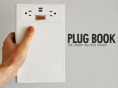 PLUGBOOK - Powerstrip for iPhone, iPad, Smartphone and more! by Dave Hakkens, via Kickstarter.