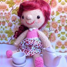 Patrón Muñeca Hello Dolly amigurumi