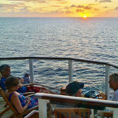 Admiring a Caribbean sunset on #CelebrityEquinox.  #celebritycruises #cruise #ship #modernluxury #häämatka #honeymoon #caribbean #karibia #loma #travel #matka #reissu #nordicnomads #sunset #auringonlasku (via Instagram)