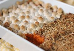 The Galley Gourmet: Sweet Potato Casserole