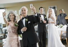 Here are some memorable outlines for wedding toasts for the father of the bride as you send your daughter off into the adventure of marriage.