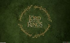 the lord of the rings logo   The lord of the rings wallpaper #23215 - Open Walls