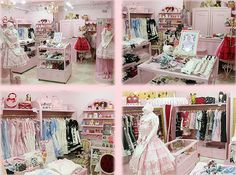 Lolita theme room | Above are several shots of the main store in Harajuku, Tokyo. What ...